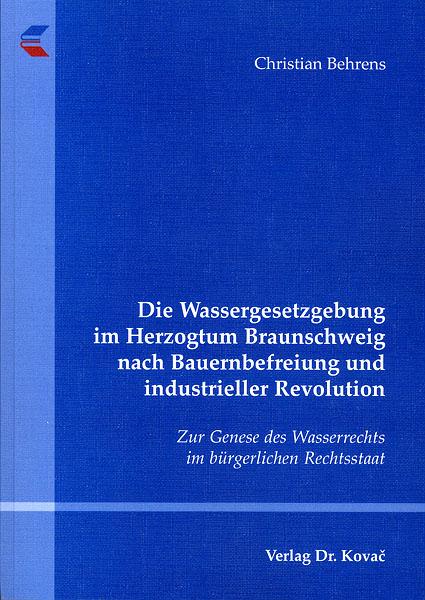 Bild: Einband der Printausgabe der Dissertation